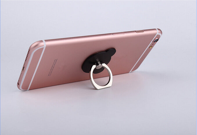 UVR 360 Degree Bear Finger Ring Smartphone Phone Stand Holder For iPhone iPad Universal | Ego-Silencer