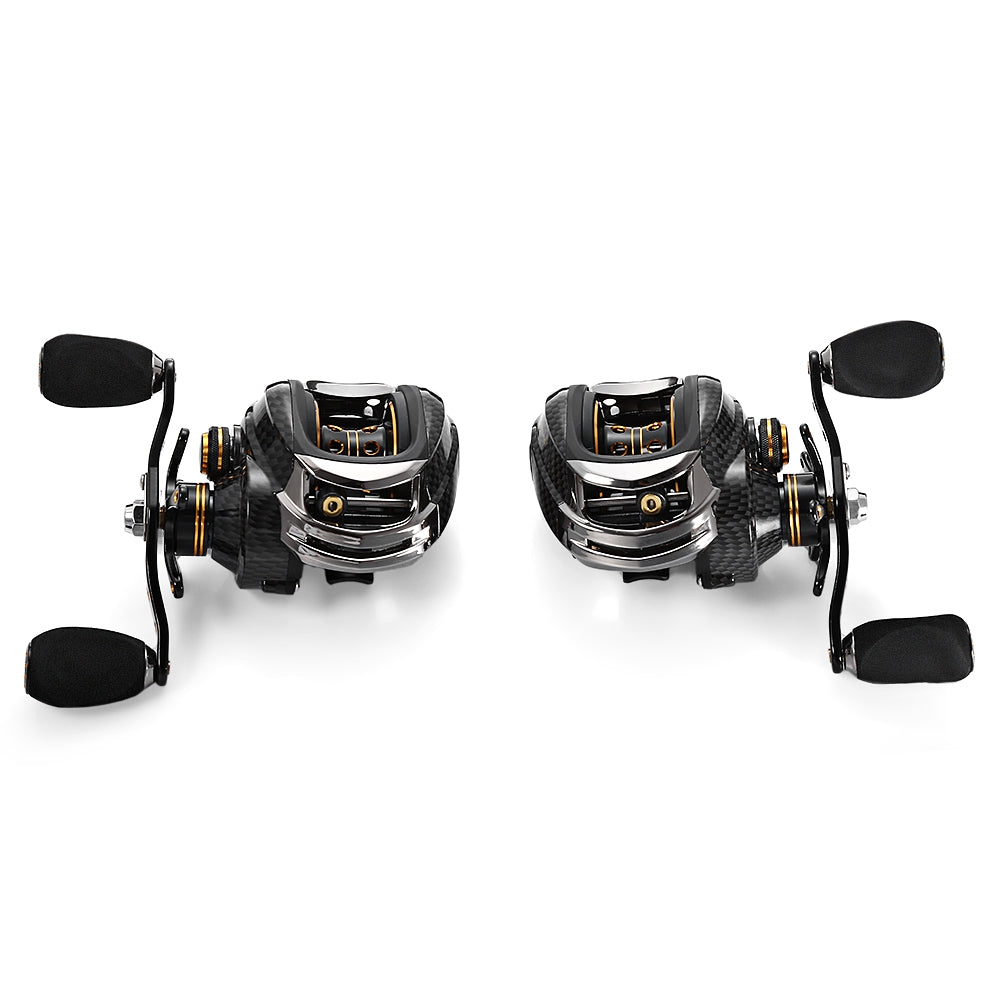 Bait Casting Reels Left or Right Hand Fishing One Way Clutch Baitcasting Reel | Ego-Silencer