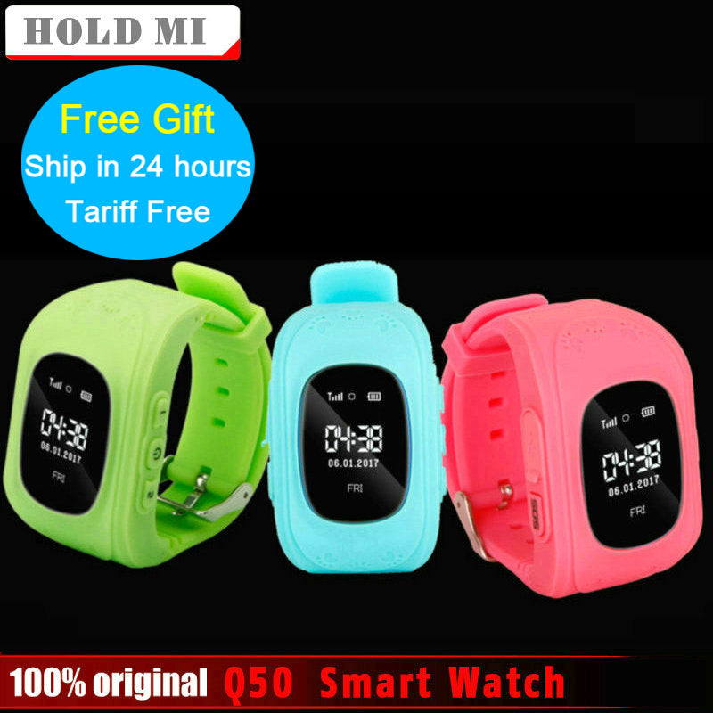 Anti Lost Child GPS Tracker GPS Watch Compatible IOS & Android