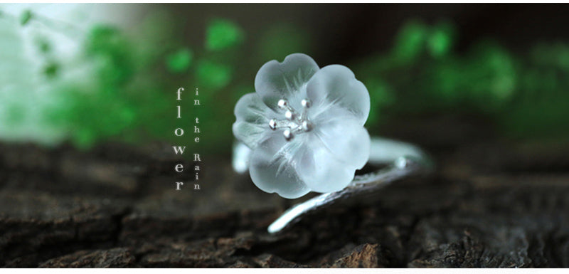 925 Sterling Silver Lotus Ring | Ego-Silencer