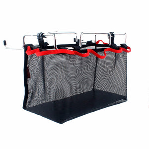 2017 Portable Iron Rack And Large Storage Bag Organizer For Outdoor Camping