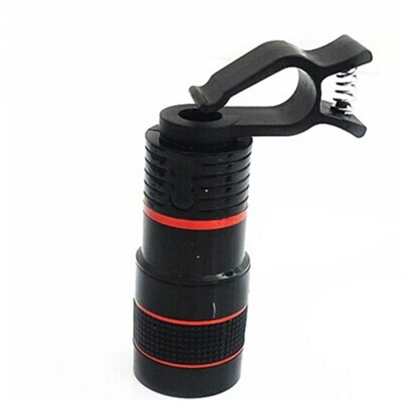 8X/12X Optical Zoom Telescope Camera Lens Clip Mobile | Ego-Silencer