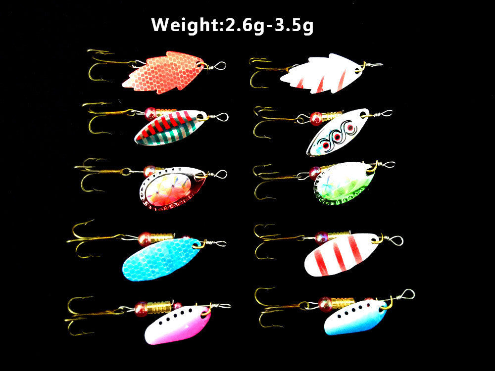 Fishing Lure Kit 30pcs/lot 3g-7g Minnow/Popper Spinner Metal Spoon | Ego-Silencer