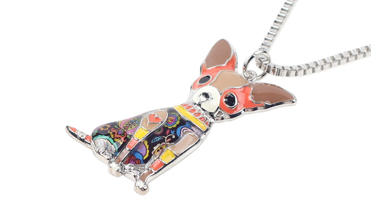 Chihuahua Dog 6 Colors Necklace | Ego-Silencer