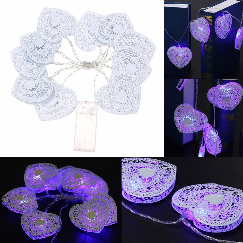 "20/10 LED White String Fairy Lights for ""CAMPING"" Area 