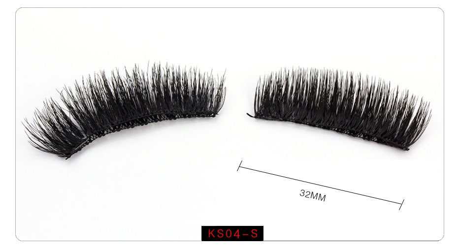 Magnetic Handmade Mink 6D Eyelash Extension with Double Tiny Magnets | Ego-Silencer