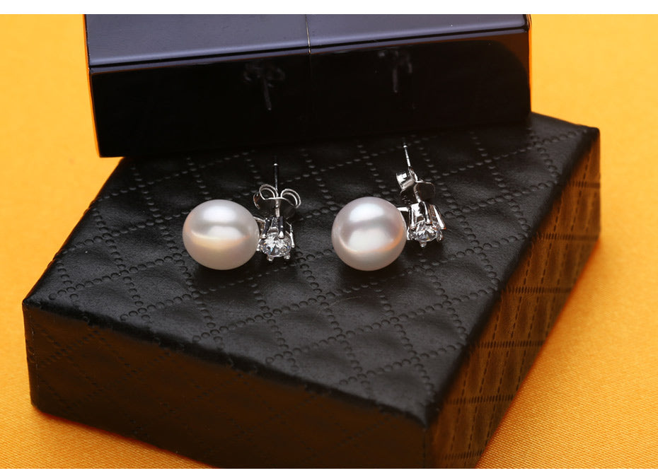 Freshwater Flower Pearl Jewelry Sets, Pendant, Necklace, 5 Colors Earrings & Ring | Ego-Silencer