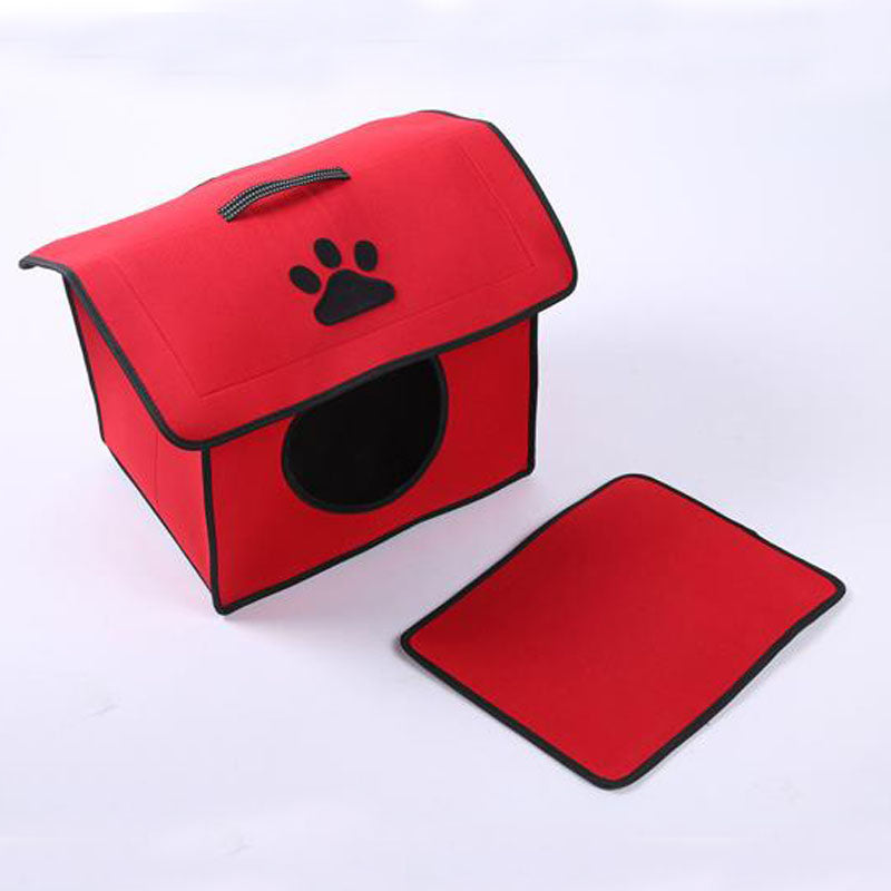 Dog House Winter Puppy or Cat Nest Pets Products for Small Pets | Ego-Silencer
