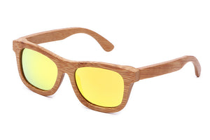 100% polarized bamboo and wooden sunglasses different colors | Ego-Silencer