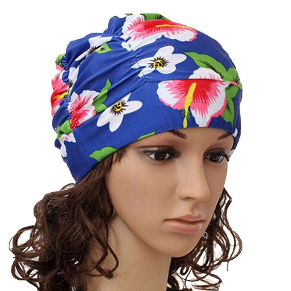 Women's & Girls Long Hair Stretch Swim Cap 8 Colors | Ego-Silencer