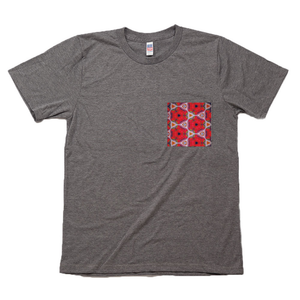 Strawberry Fields Red Pocket Tee