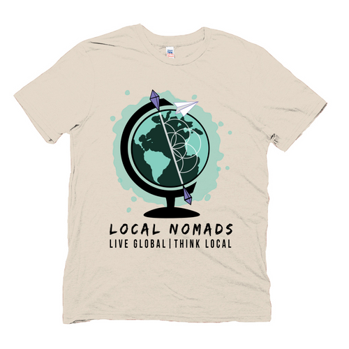 LOCAL NOMADS LOGO TEE