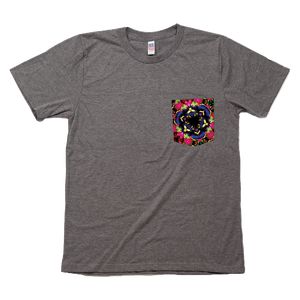 Mangosteen Queen of Fruits Graphic Pocket Tee