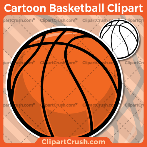 Vector SVG PNG Basketball clipart for teachers, school, kids, businesses or anyone that needs a cool Basketball for their projects. Black & white Basketball vector line art included. Great for logos, icons, curriculum.