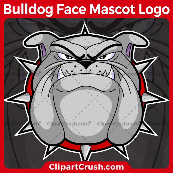 Unique and original SVG PNG Bulldog Faces Mascot Logo clipart for your school or team. Black & white Bulldog Face vector line art included. Great for basketball, soccer, football, lacrosse, baseball, or softball sports teams that are proudly represented by a Bulldog Faces Mascot! Bulldog PRIDE!
