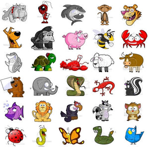 Animal Clipart Pack Royalty Free