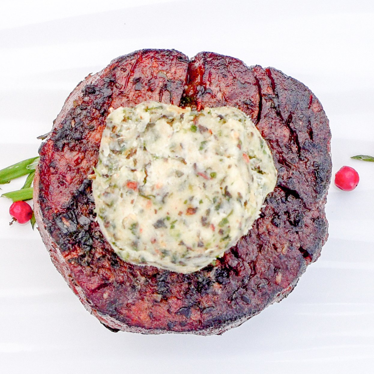 The Patio Daddy-O USDA Prime Filet Mignon Steak Box ~ Black Garlic and Truffle