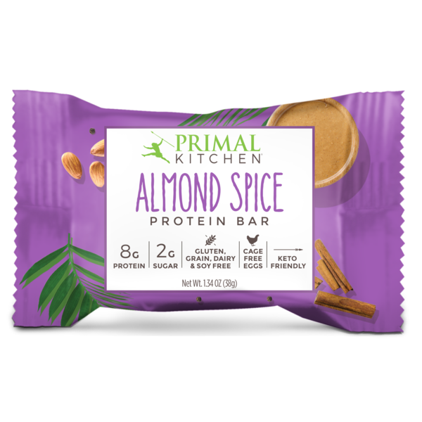 Almond Spice Protein Bars - 12 count