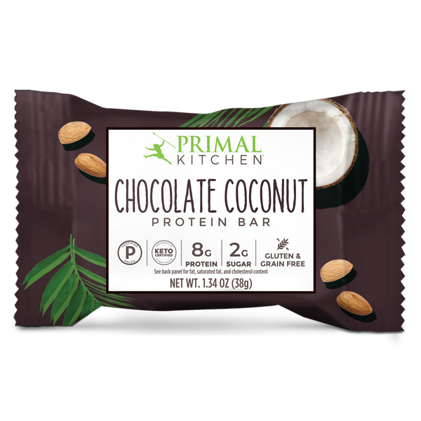 What's Inside Chocolate Coconut Protein Bars - 12 Count