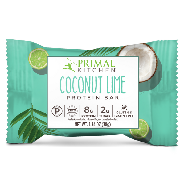 What's Inside Coconut Lime Protein Bars - 12 count