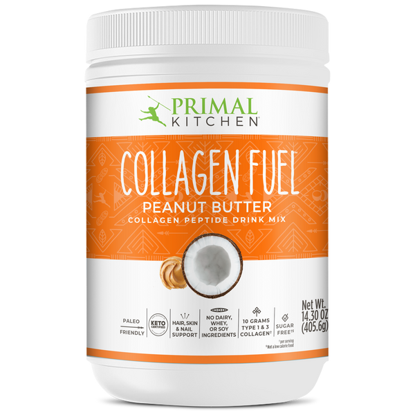 What's Inside COLLAGEN FUEL® Drink Mix - Peanut Butter