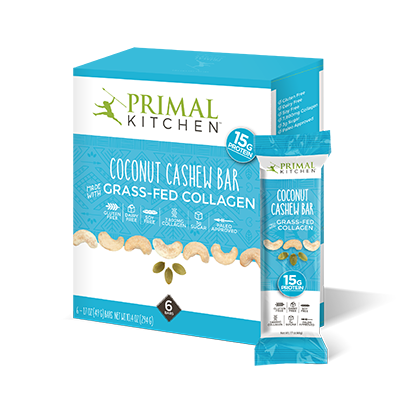 Coconut Cashew Collagen Protein Bar