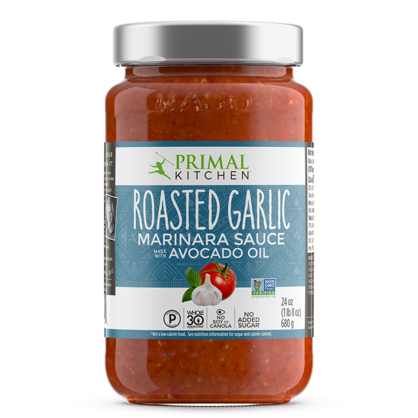What's Inside Roasted Garlic Marinara Sauce