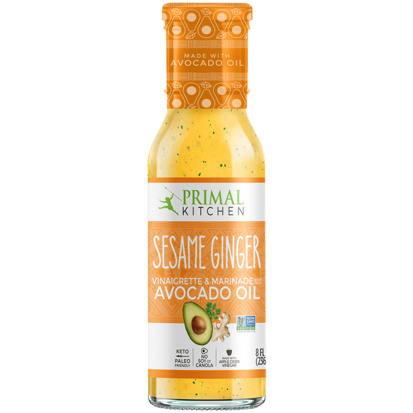 What's Inside Sesame Ginger Vinaigrette & Marinade