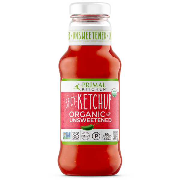 What's Inside Spicy Organic Unsweetened Ketchup