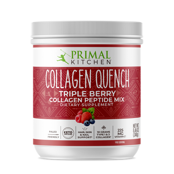 What's Inside Collagen Quench Triple Berry - 8.46 oz
