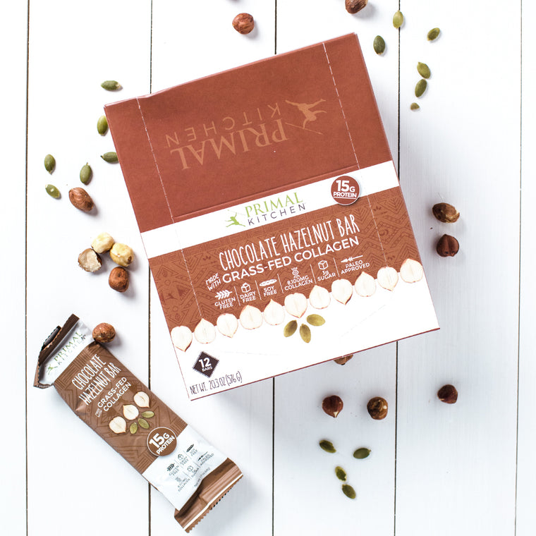 Chocolate Hazelnut Collagen Protein Bar