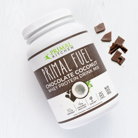 Primal Fuel: Chocolate Coconut Whey Protein Drink Mix