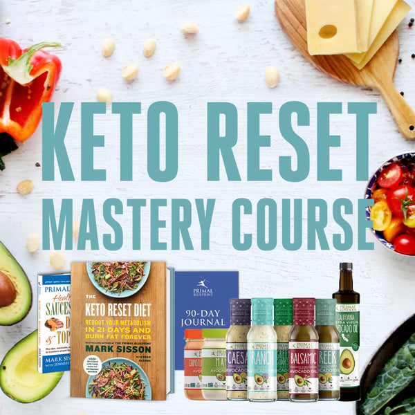 The Keto Reset Mastery Course + Kitchen Kit - Primal Blueprint