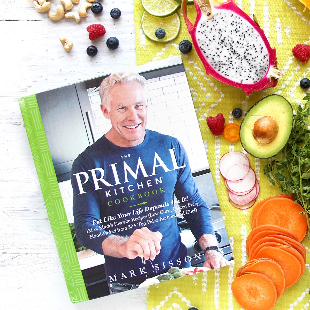 The primal kitchen cookbook eat like your life depends on it primal kitchen cookbook mark sisson and 50 paleo authors and chefs malvernweather Choice Image