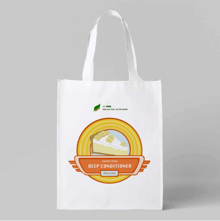 Banana Cream Reusable Shopping Bag