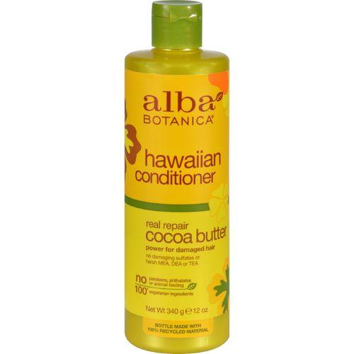 Alba Botanica Hawaiian Hair Conditioner Cocoa Butter - 12 fl oz
