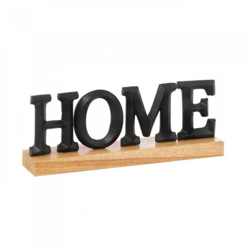 Home Block Letter Decor