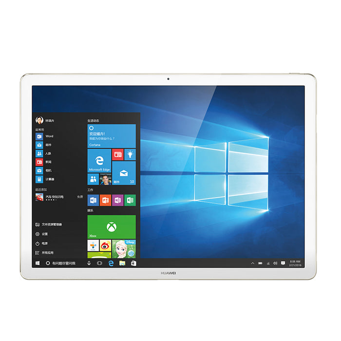 "12"" Huawei MateBook Intel Core M5 8GB 256GB SSD 2 in 1 Tablet PC Windows 10 Dual Core 2160x1440 IPS HD Fingerprint Metal Body"