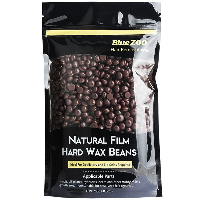 250G Natural Film Hard Wax Beans