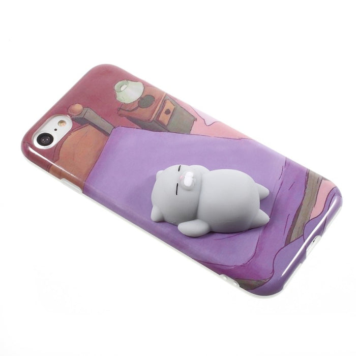 3D Cute Soft Silicone Squishy Animals Phone Case