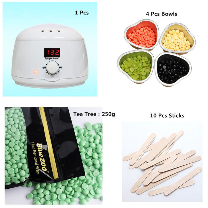 250G Wax Bean Remove Hair Products Combination