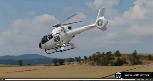 Spectacular VIDEO with a REAL HELICOPTERO to PROMOTE your WEB and LOGO