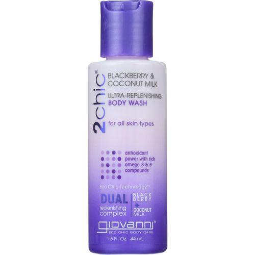 Giovanni Hair Care Products Bodywash - 2Chic - Ultra-Replenishing - Blackberry and Coconut Milk - 1.5 oz - 1 each