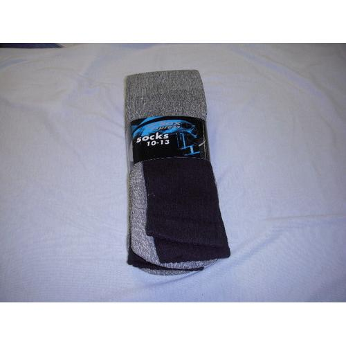 Mens Thermal Socks Black - Size 10-13