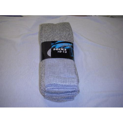 Mens Thermal Socks Grey - Size 10-13