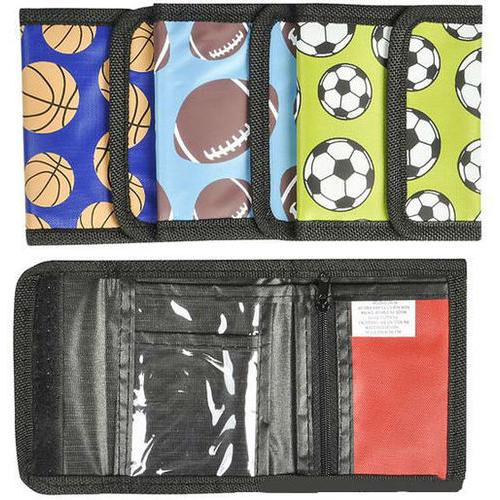"4.75"" Sports Ball Wallets"