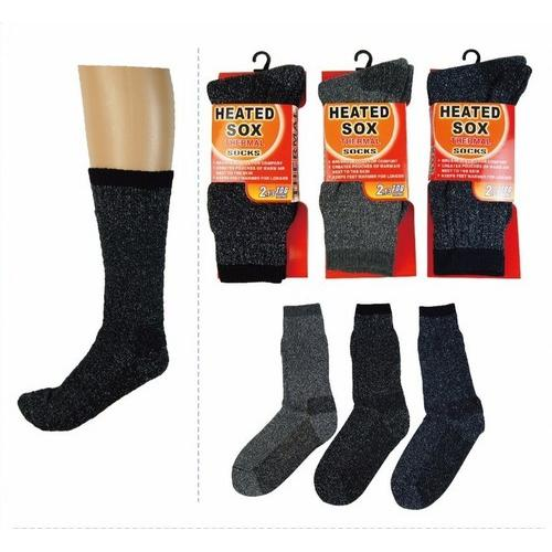 Mens Heated Thermal Socks