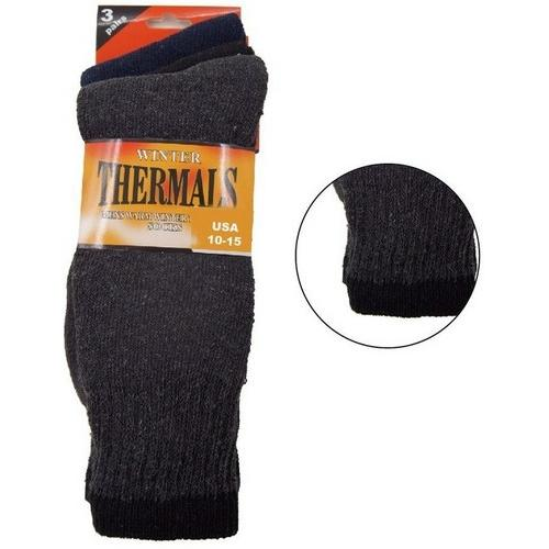 Mens Thermal Socks - 3 Pack