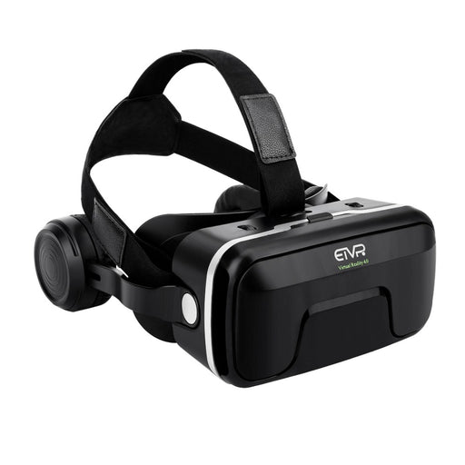 2017 New ETVR VR Box 3D Glasses Virtual Reality 4.0 Stereo Headphones and Adjustable Straps for IOS/Android 4.7-6.0 Smartphone