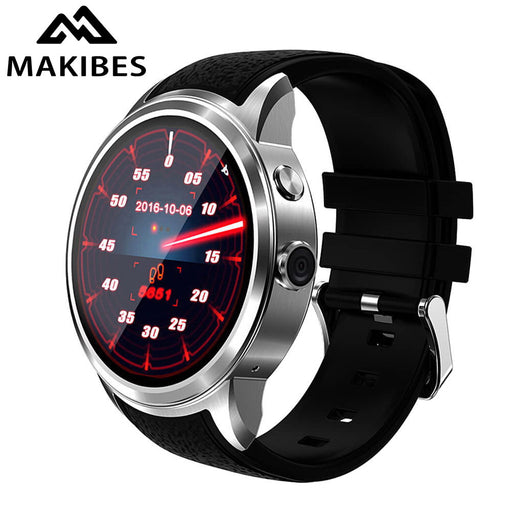 2017 New X200 Smart Watch 3G Wifi GPS Watch MTK6580 Android 5.1 AMOLED Smartwatch Phone heart rate monitor Camera MP3 8GB 512 MB